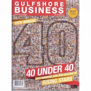 Gulf Shore Business 40 under 40 Cover