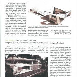 Florida caribbean Architect magazine fall 2009 Article