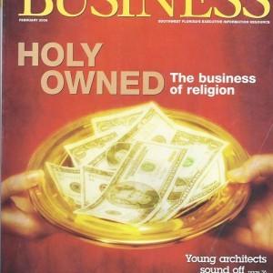 Gulfshore Business magazine Feb 2006 Cover