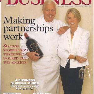 Gulfshore Business magazine Feb 2008 Cover