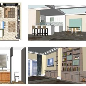 Venetian isles Condo renovation by Hlevel Architects