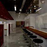 Hlevel Architecture-Pyure Corporate Campus-rendered interior view