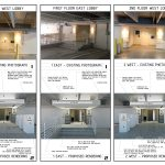 HLEVEL ARCHITECTURE_FIFTH THIRD BANK RENOVATION GARAGE LOBBY ENTRY CONCEPT_BEFORE AND AFTER