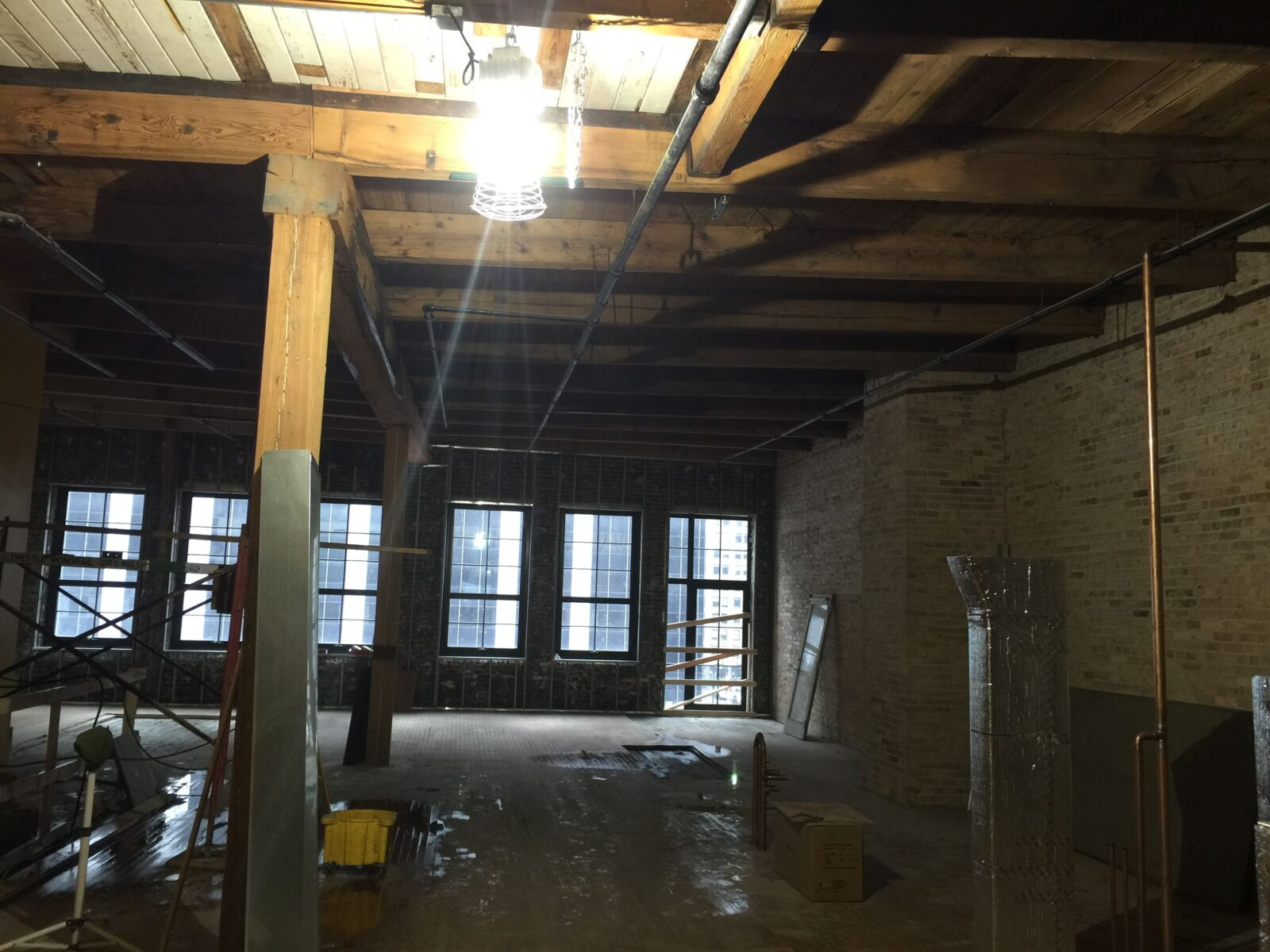 Before image , Chicago Loft project