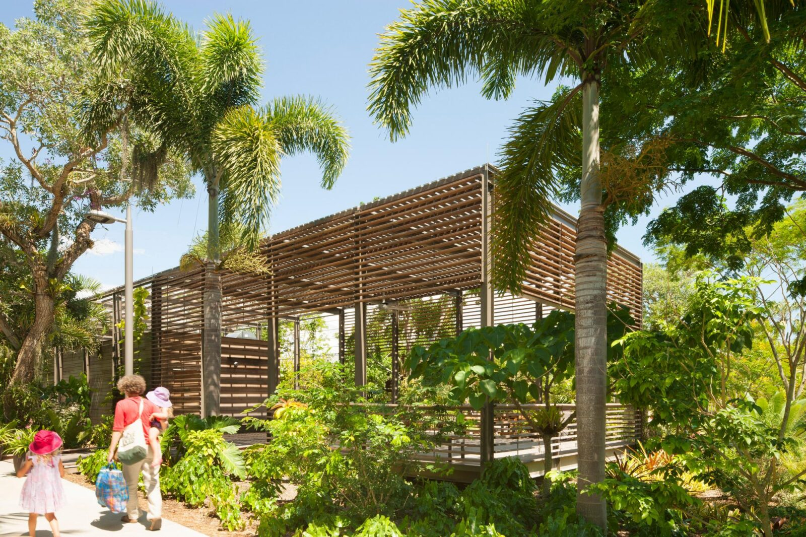 Naples botanical garden visitor center