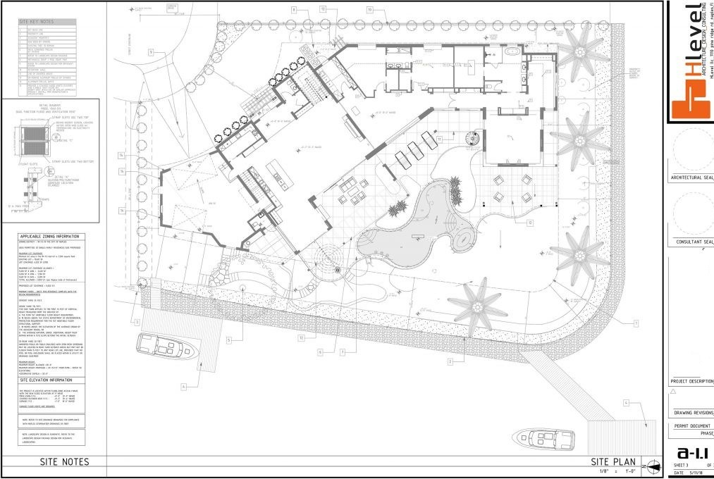 Hlevel Architect detailed drawings