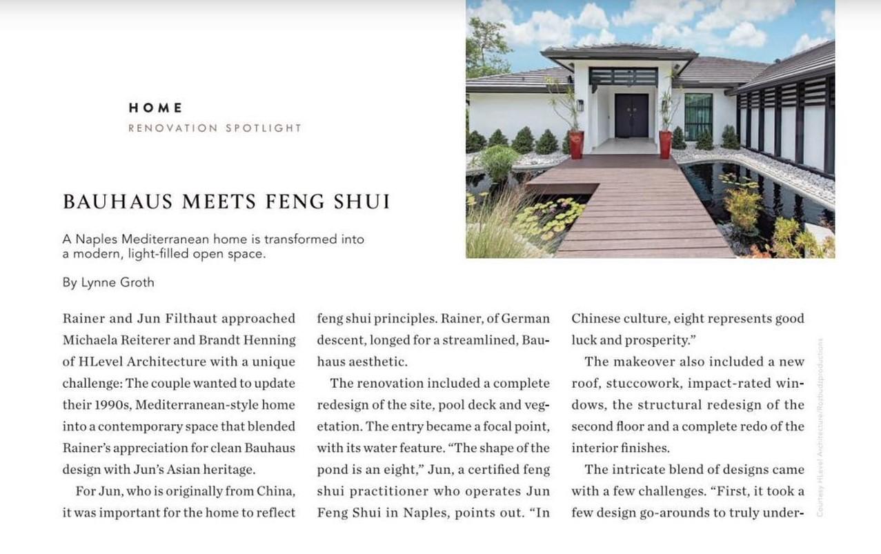 Feng Shui Meets Bauhaus
