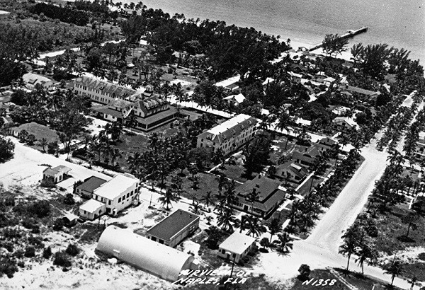 Naples beach from 1948