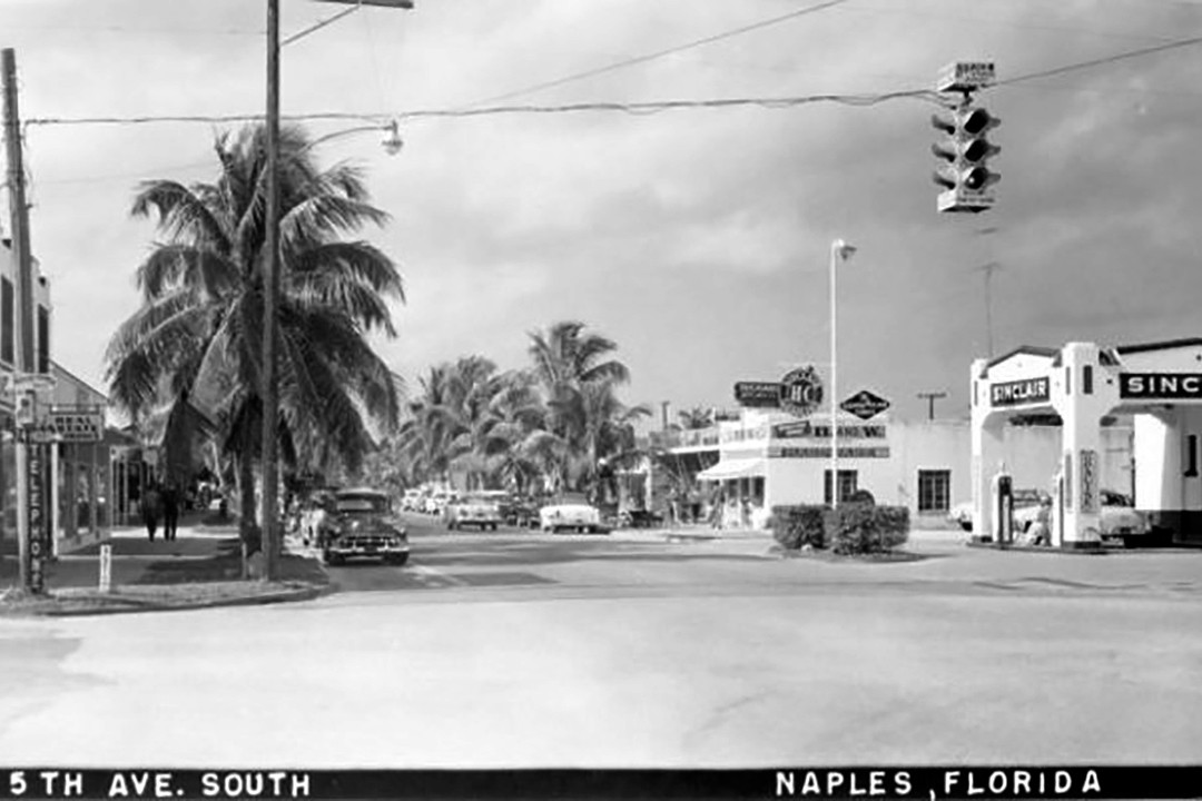5th Av S Naples historical 1950s