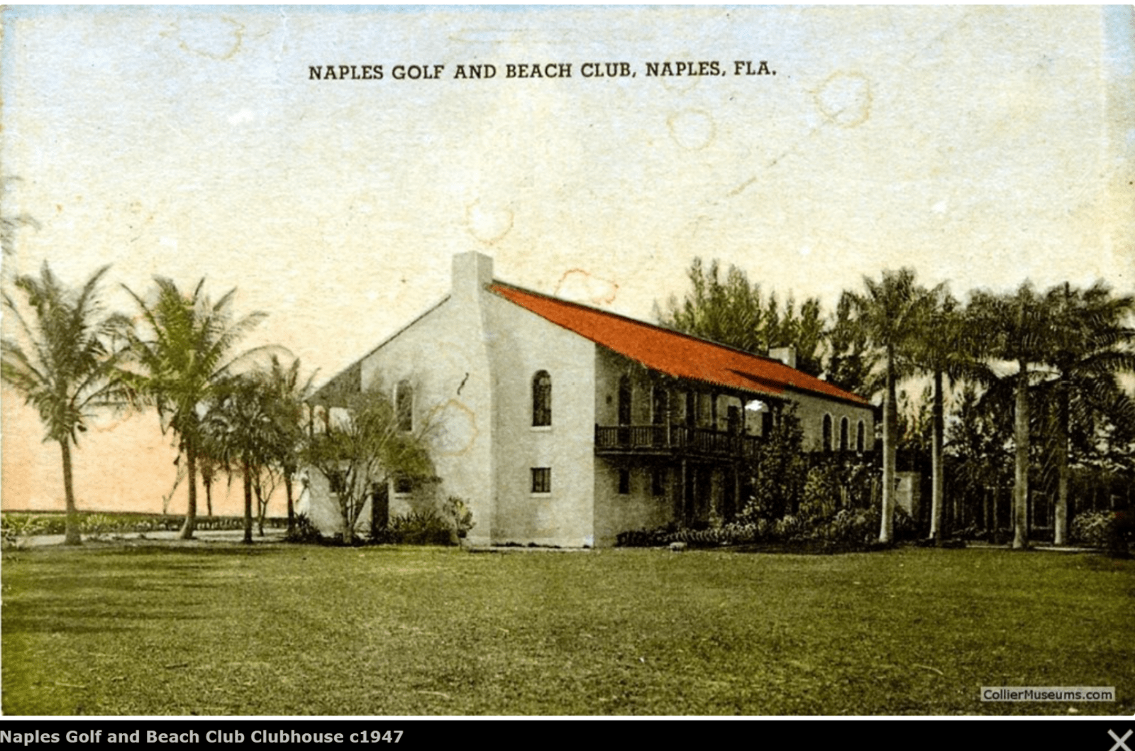 Naples Beach club C1948