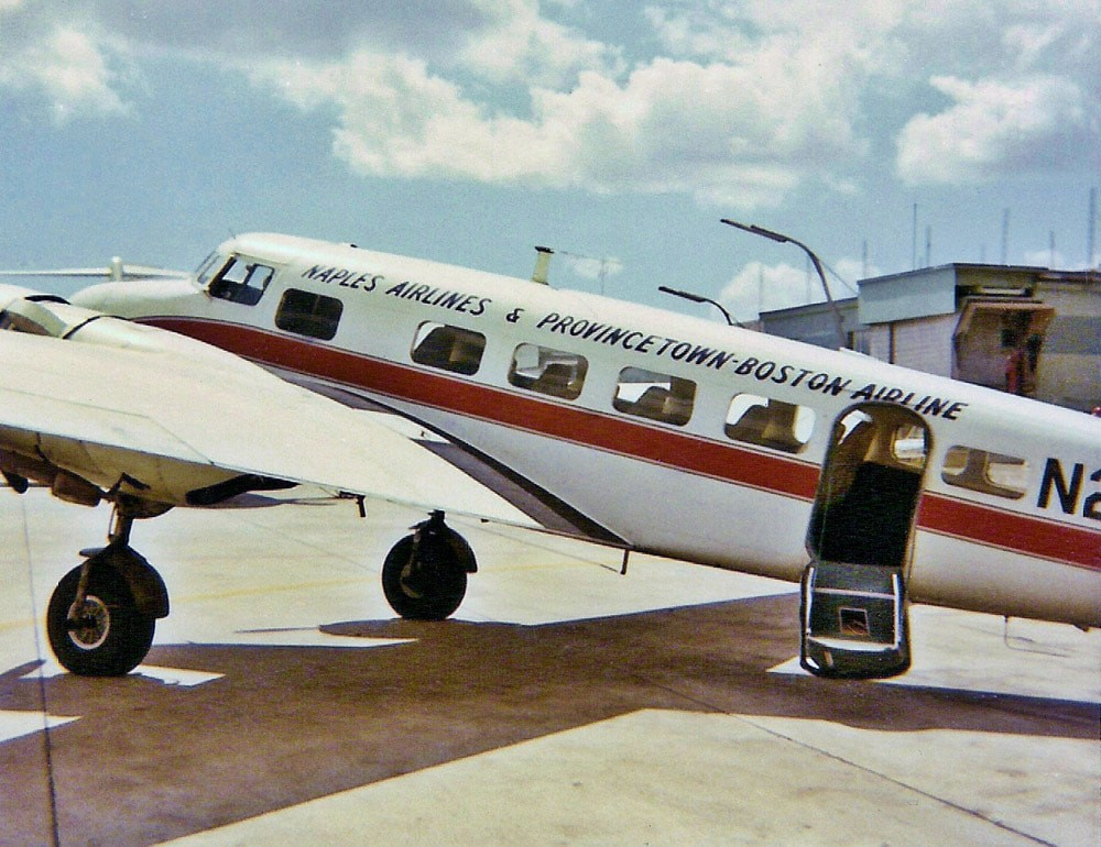 Naples, FL, Airport, 1950