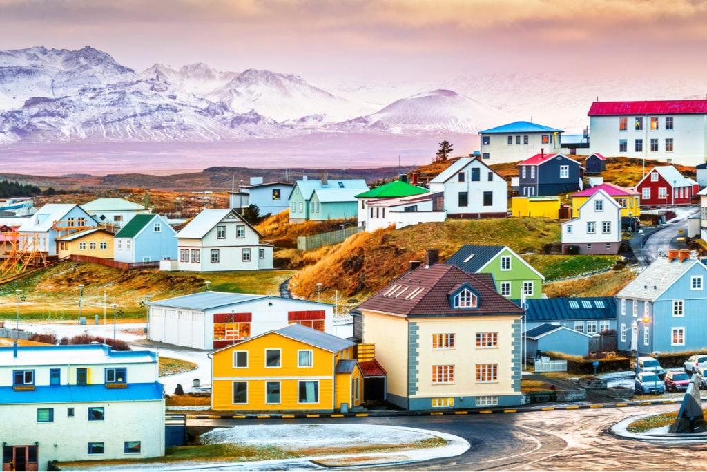 Icelandic village - hlevel architecture